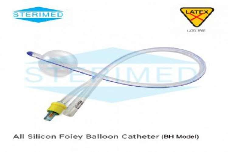 Silicon foley balloon catheter bh model