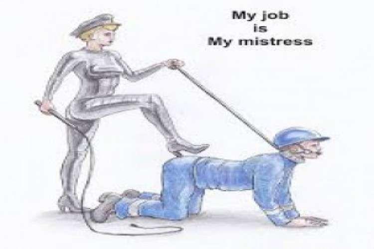 Slave for elite rich women