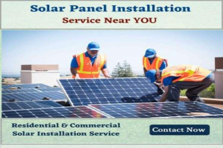 Solar panel installation service near you