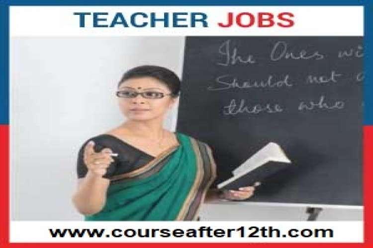 Teacher jobs in india latest details
