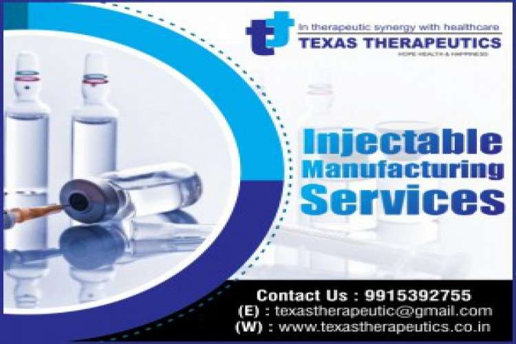 Texas therapeutics  injection manufacturing company
