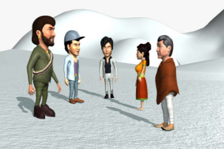 The best three d character modeling in india