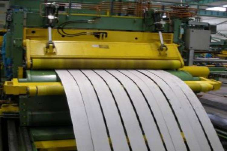 The steel plate factory