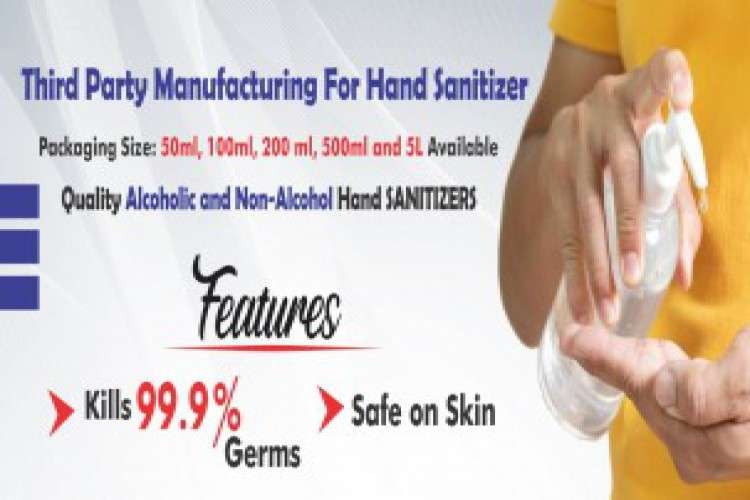 Third party manufacturing for hand sanitizers