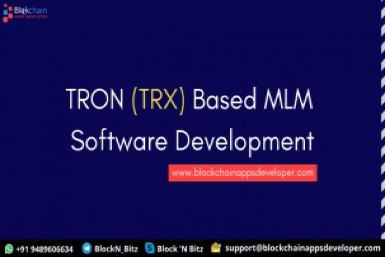 Tron smart contract mlm software development company