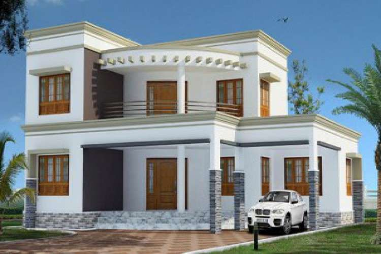 Two bedroom house plan indian style