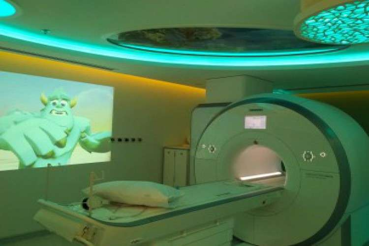 Using magnetic resonance imaging to create the perfect mri ambience