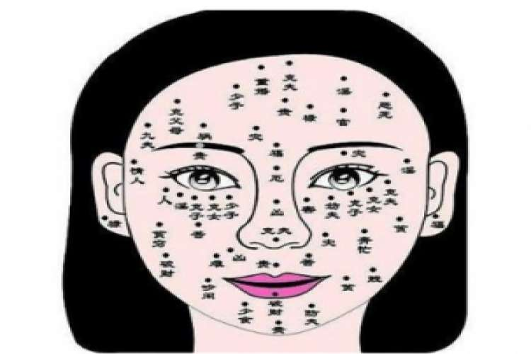 What is the fate of a woman with a nevus of crying husband